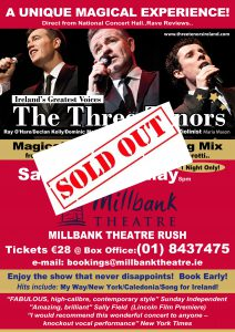 3 Tenors New SOLD OUT